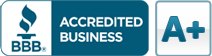 We are a Better Business Bureau accredited business. Click here to check our BBB rating.